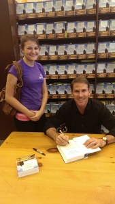 There's me with Nicholas Sparks!!