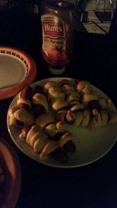 Mummy dogs! So easy to make, and so yummy!