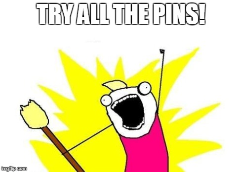 Try All Pins